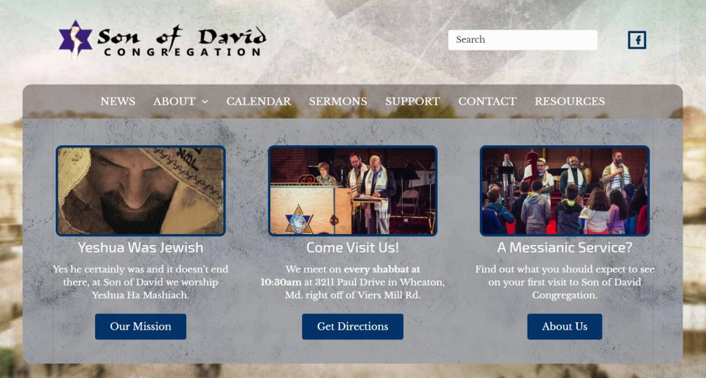 Son of David Messianic Jewish Website